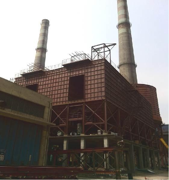 沙鋼7# 360m2燒結機煙氣脫硫工程