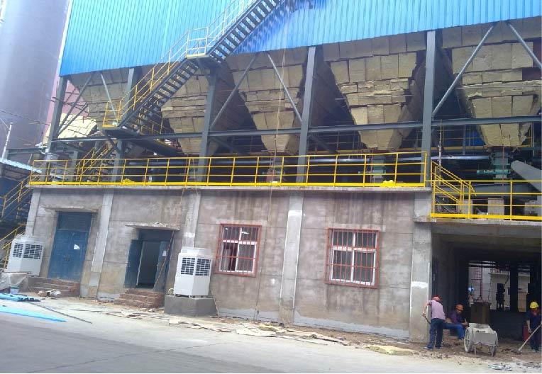 沙钢永兴180m2烧结机烟气脱硫工程