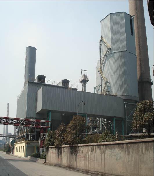 沙鋼4#燒結機煙氣脫硫工程