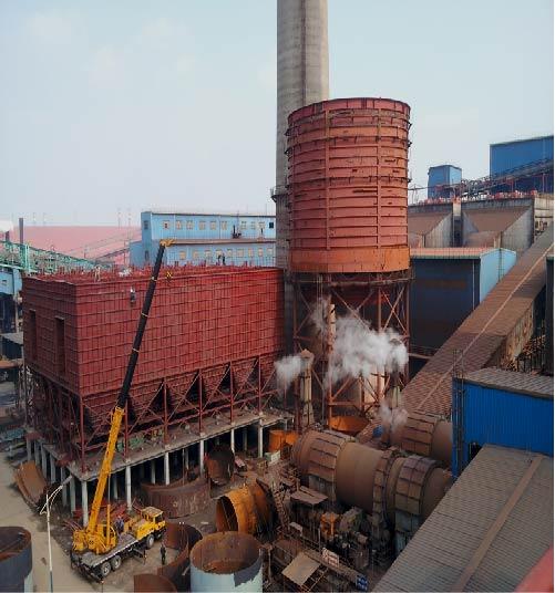 沙钢6# 360m2烧结机烟气脱硫工程