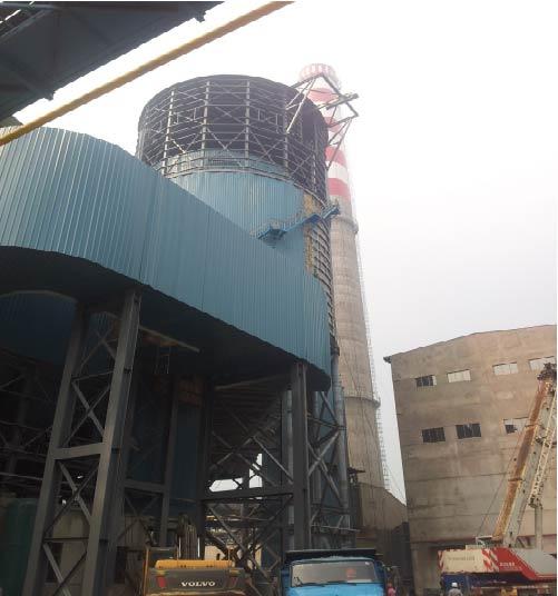 联峰450m2烧结机烟气脱硫工程